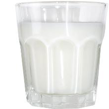 milk glass at 1500 calorie diet