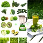 green smoothie challenge fruits and vegetables