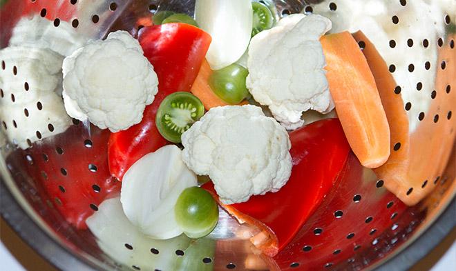 pickled vegetables nutrition