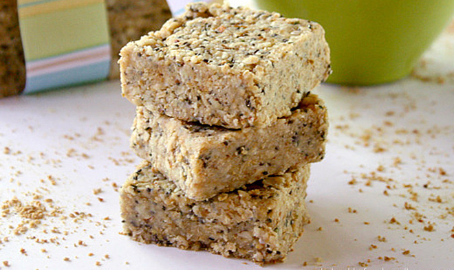 raw hemp chia seeds bars