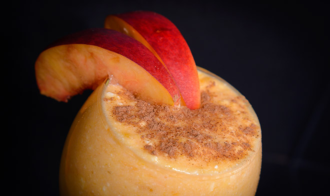 healthy yogurt and fruit dessert awesome fall flavor