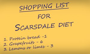 scarsdale shopping list