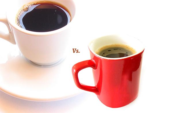 espresso vs. instant coffee